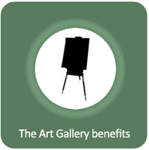 The Art Gallery benefits