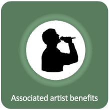 Associated artist benefits