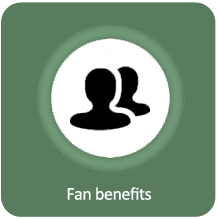 Fan benefits
