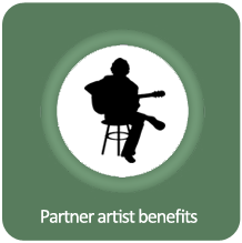 Partner artist benefits