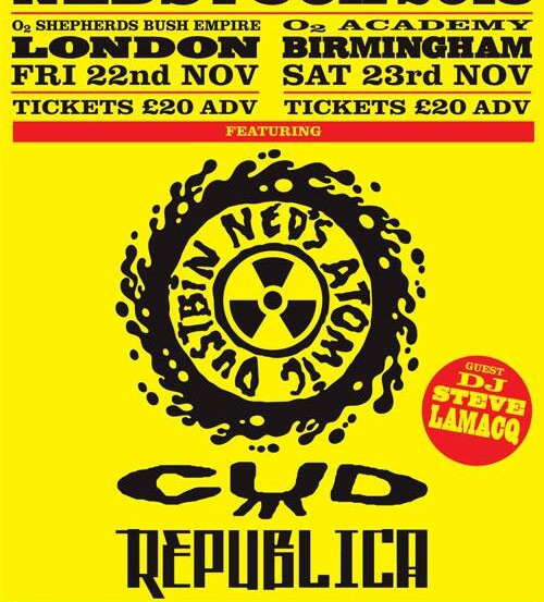CUD announce support dates
