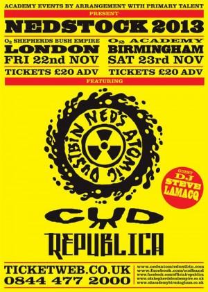 CUD live dates 2013