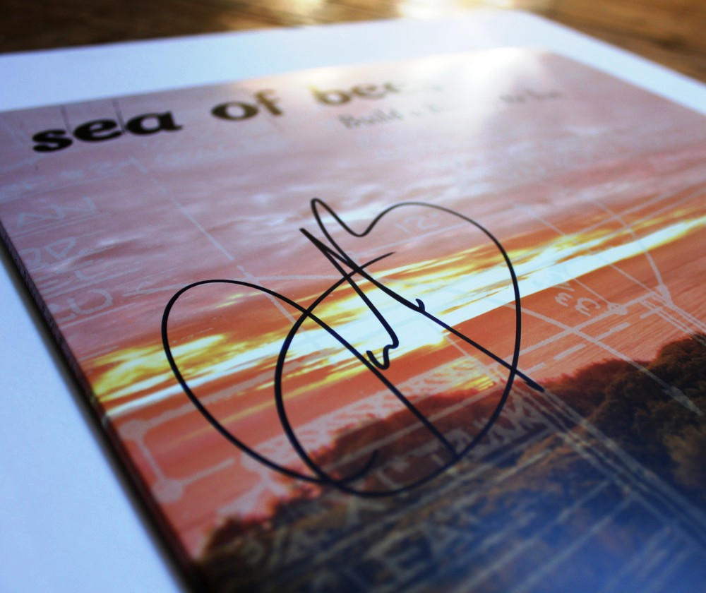 Sea Of Bees - Build A Boat To The Sun - signed LP